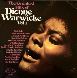Dionne Warwick ‎- The Greatest Hits Of Dionne Warwick Vol. 1 (LP) (VG/G)